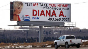 Was This Calgary Real Estate Agent's BillBoard Too Racy To Show ...