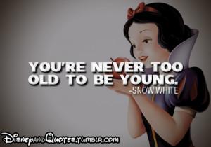 disney snow white quote