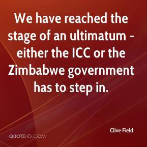 ultimatum quotes source http www quotehd com quotes words zimbabwe