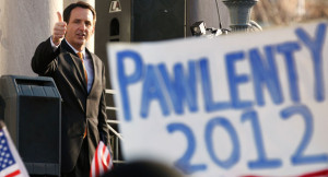 Tim Pawlenty scores tea party win