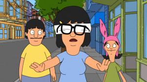 Bob's Burgers Tina Blindfolded