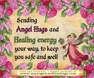 Angel Hugs and Healing EnergyAngels Quotes, Angels Energy, Angels Hug ...