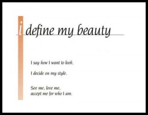 Define My Beauty Beauty Quotes