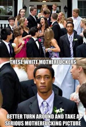 Stupid white people...