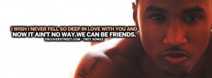 We Cant Be Friends Trey Songz Quote Lyrics Wallpaper