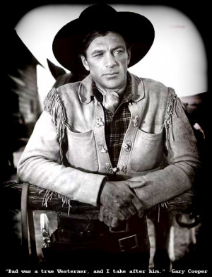 Gary Cooper - The Westerner - Biography