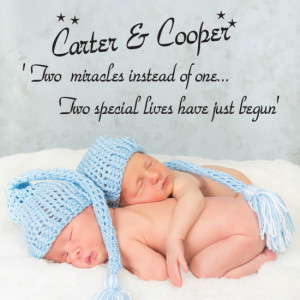 ... Miracles Instead Of One Two Special Lives Have Just Begun - Baby Quote