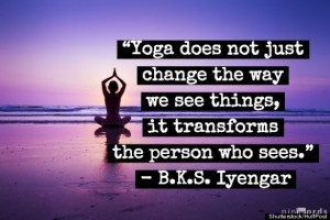 Yoga's Power To Create Positive Change