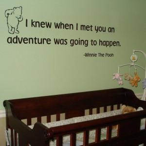 Winnie the pooh's Adventure Quote