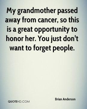 Grandma Passed Away Quotes