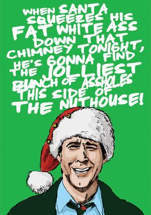 Die Hard Christmas Card Alternative christmas cards