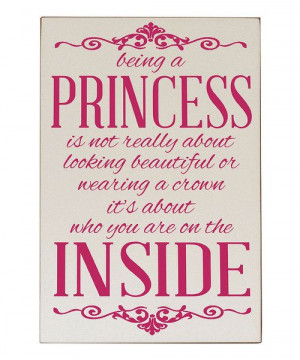 ... & Pink 'Being a Princess' Wall Plaque by Vinyl Crafts #zulilyfinds