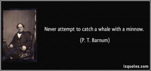 Barnum Quotes