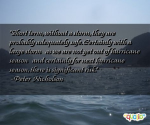 Famous Quotes About Storms