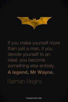 Batman #superhero #quote