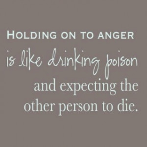 Unchain the anger, release the hold it has on you.