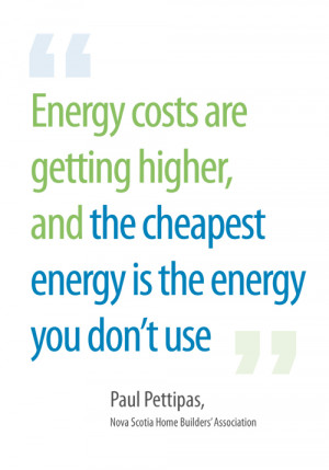 energy costs are getting higher and the cheapest energy is the energy ...