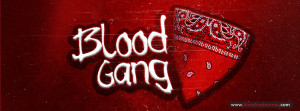 Blood Gang Facebook Profile Cover