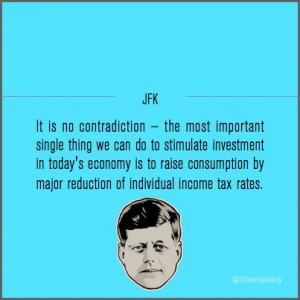... raise consumption by major reduction of individual income tax rates