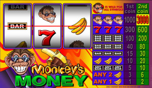 Monkeys Money Online Slot Machine