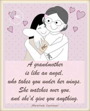 Grandmother Illustrations, quotes and sayings