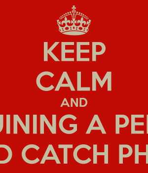 KEEP CALM AND STOP RUINING A PERFECTLY GOOD CATCH PHRASE
