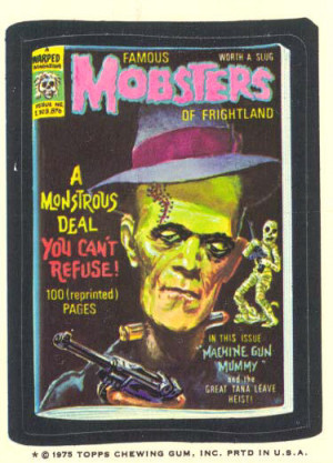 Famous Mobsters Of Frightland / A Warped Magazine / Issue No ...