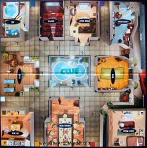 Framed Clue Board Game