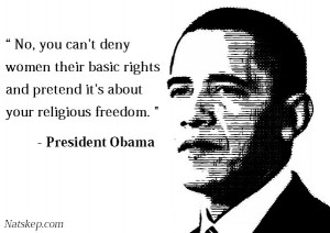 Barack Obama was quoted as saying: