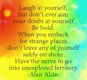 Alan Alda Quote Modified