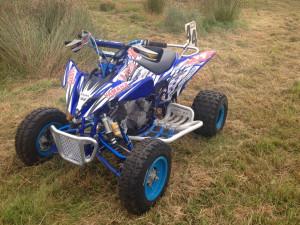 Yamaha raptor 250 race prepared quad bike