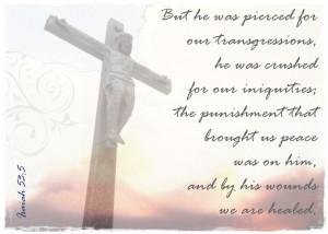 Prayers for the Week – Jesus Saves