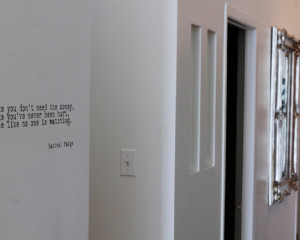 Quote On Wall Home Design Photos