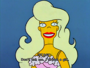 lisa simpson s rant against the doll resembled the attitude