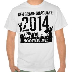 Class of 2014 8th Grade Graduation Tee Shirts