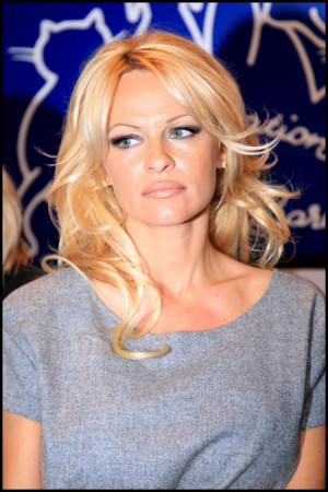 Pamela Anderson Looking Side