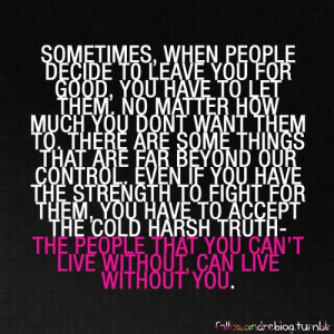 Quotes About People Leaving Your Life For A Reason