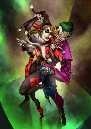 Harley Quinn And The Joker Love Joker, harley quinn love