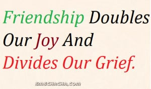 The Quote Saying Describes Importance of Friendship About Joy And ...