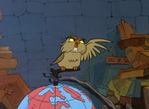 "... history in reverse!"" – Archimedes from The Sword in the Stone"