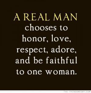 Quotes Real Men Respect Women