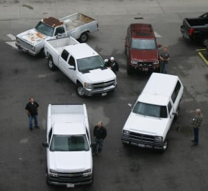 Funny Diesel Truck Quotes A handful of trucks on a