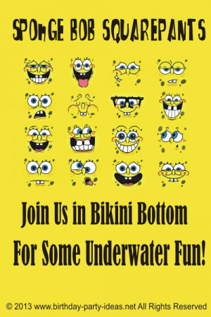 Spongebob Squarepants...