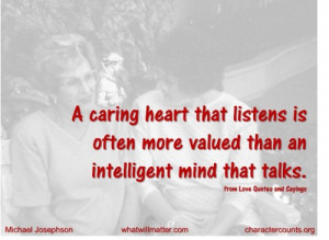 ... than an intelligent mind that talks. –from Love Quotes and Sayings