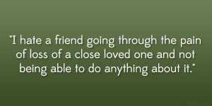 Quotes On Grieving The Loss Of A Loved One: 31 Gripping Quotes About ...