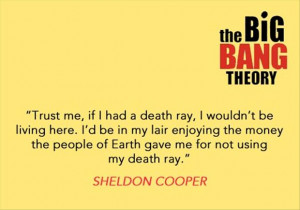 sheldon cooper quotes