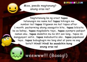 Pambasag na Banat and Pang Basag Jokes