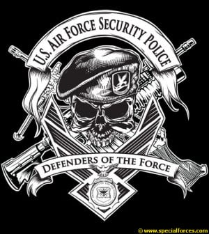 air force security police tattoos