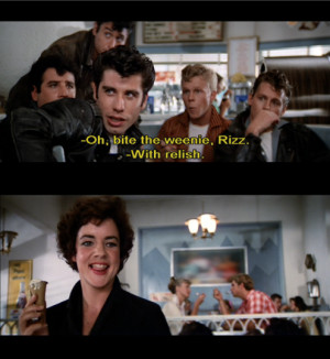 Grease Movie Quotes Picture