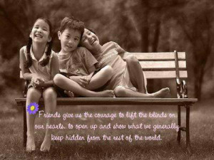 emotional love quote about friends